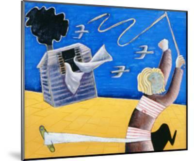 A New Beginning, 1989-Celia Washington-Mounted Giclee Print