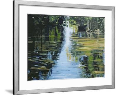 Shimmering River, 2003-Alan Byrne-Framed Giclee Print