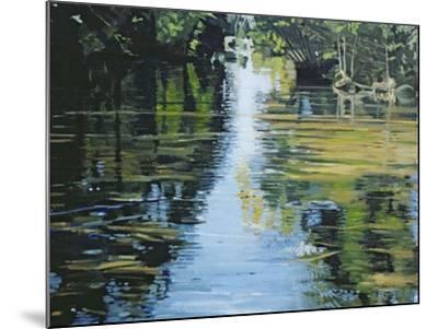 Shimmering River, 2003-Alan Byrne-Mounted Giclee Print