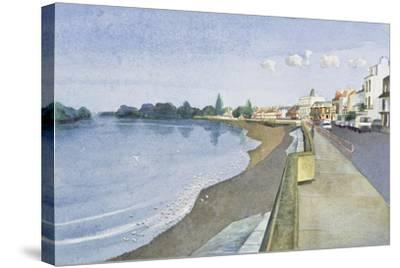 The Thames at Barnes-Isabel Hutchison-Stretched Canvas Print
