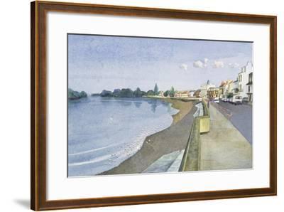The Thames at Barnes-Isabel Hutchison-Framed Giclee Print