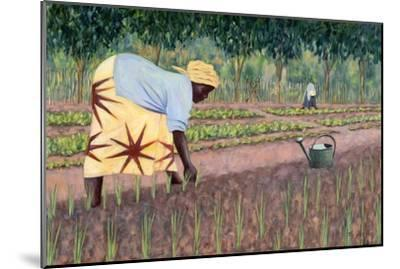 Planting Onions, 2005-Tilly Willis-Mounted Giclee Print