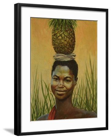 Pineapple Girl, 2004-Tilly Willis-Framed Giclee Print