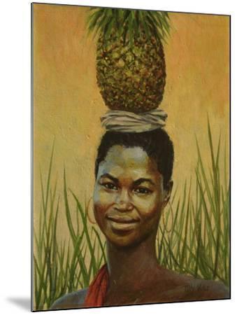 Pineapple Girl, 2004-Tilly Willis-Mounted Giclee Print