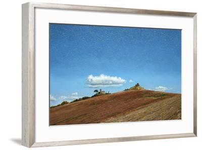 Big Sky, Hill Top, Todi, Umbria, 1998-Trevor Neal-Framed Giclee Print