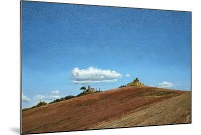 Big Sky, Hill Top, Todi, Umbria, 1998-Trevor Neal-Mounted Giclee Print