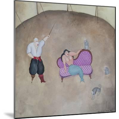 Mermaid and Pirate, 1980-Mary Stuart-Mounted Giclee Print