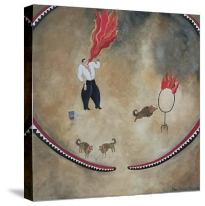 Fire Eater, 1980-Mary Stuart-Stretched Canvas Print