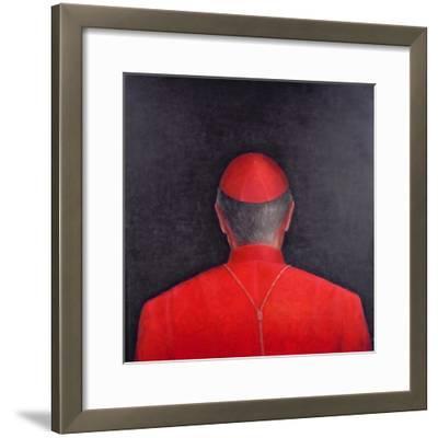 Cardinal, 2005-Lincoln Seligman-Framed Giclee Print