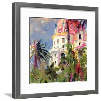 Riviera Balcony, 2002-Peter Graham-Framed Premium Giclee Print