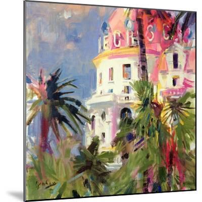 Riviera Balcony, 2002-Peter Graham-Mounted Premium Giclee Print