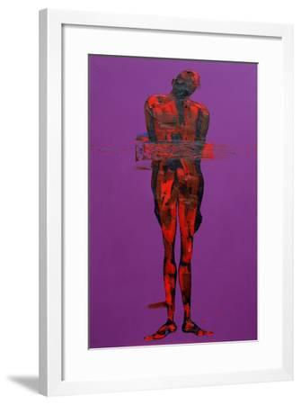 Jesus in the Tomb - Station 14-Penny Warden-Framed Giclee Print