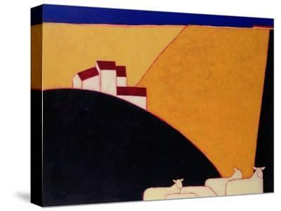 Tuscan Campagna, 1999-Eithne Donne-Stretched Canvas Print