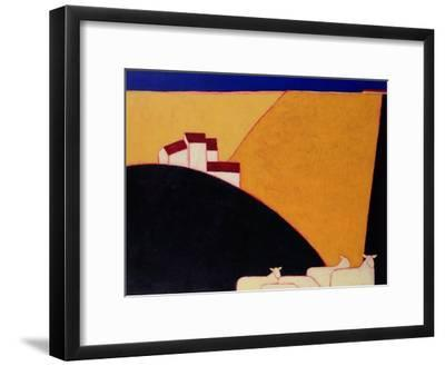 Tuscan Campagna, 1999-Eithne Donne-Framed Giclee Print