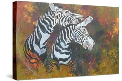 Stripes, 1997-Odile Kidd-Stretched Canvas Print