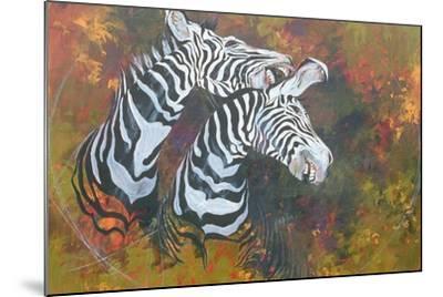 Stripes, 1997-Odile Kidd-Mounted Giclee Print