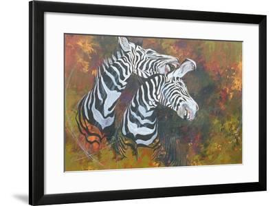 Stripes, 1997-Odile Kidd-Framed Giclee Print