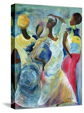 Sister Act, 2002-Ikahl Beckford-Stretched Canvas Print