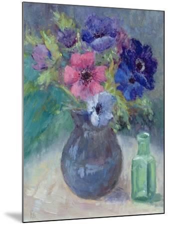 Anemones-Karen Armitage-Mounted Giclee Print