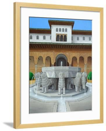 The Lion's Court-Larry Smart-Framed Giclee Print