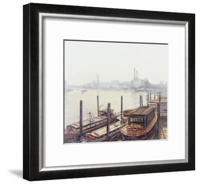 Chelsea Harbour, 2004-Tom Young-Framed Giclee Print