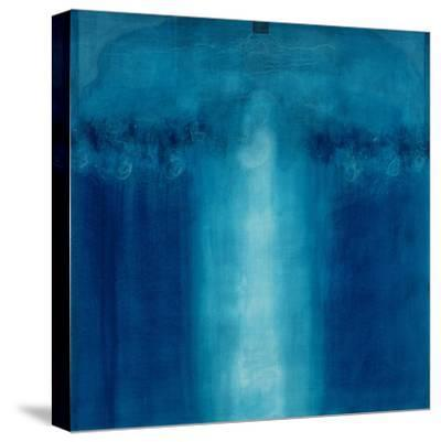 Untitled Blue Painting, 1995-Charlie Millar-Stretched Canvas Print