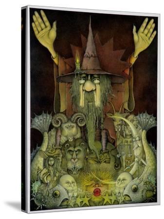 Zodiac Magician-Wayne Anderson-Stretched Canvas Print