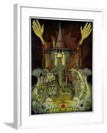 Zodiac Magician-Wayne Anderson-Framed Giclee Print