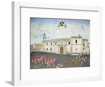 Political Protest, the Cloister of Sor Juana De La Cruz (1648-95) 2001-James Reeve-Framed Giclee Print