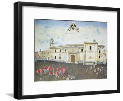 Political Protest, the Cloister of Sor Juana De La Cruz (1648-95) 2001-James Reeve-Framed Giclee Print