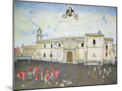 Political Protest, the Cloister of Sor Juana De La Cruz (1648-95) 2001-James Reeve-Mounted Giclee Print