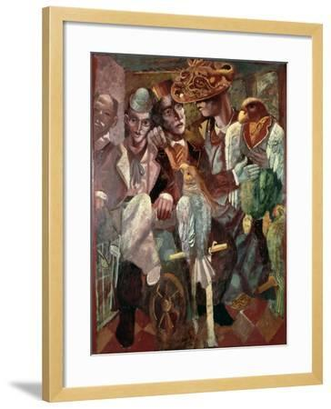 The Ventriloquist, 1987-Michael Rooney-Framed Giclee Print