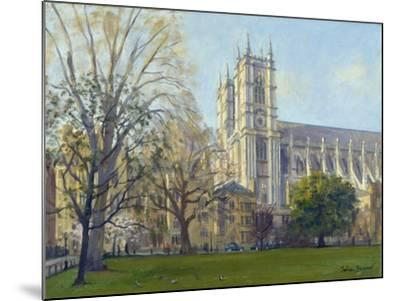 Westminster Abbey from Dean's Yard-Julian Barrow-Mounted Giclee Print