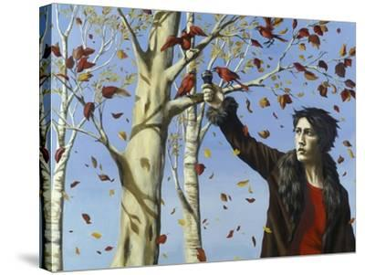 The Birds in Our Garden-Alix Soubiran-Hall-Stretched Canvas Print