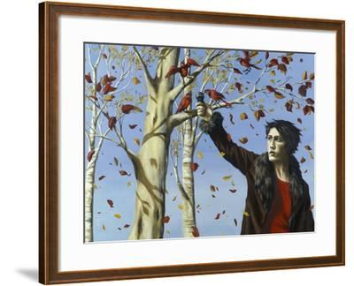 The Birds in Our Garden-Alix Soubiran-Hall-Framed Giclee Print