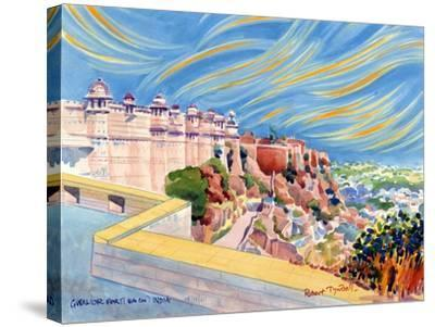 Gwalior Fort, India, 2001-Robert Tyndall-Stretched Canvas Print