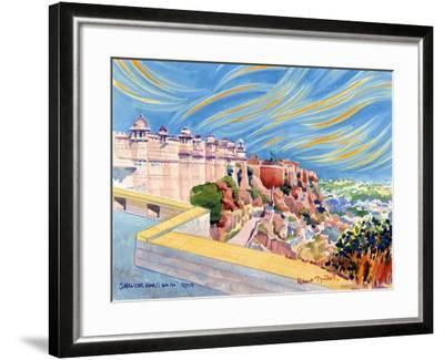 Gwalior Fort, India, 2001-Robert Tyndall-Framed Giclee Print