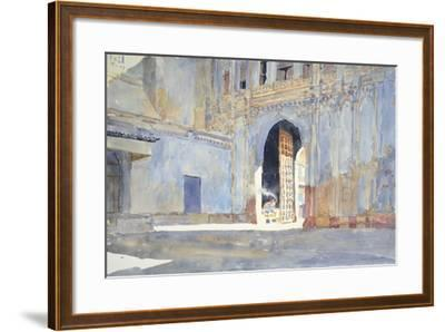 Palace Gate, Gujarat-Lucy Willis-Framed Giclee Print