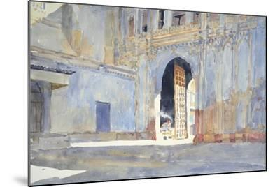 Palace Gate, Gujarat-Lucy Willis-Mounted Giclee Print