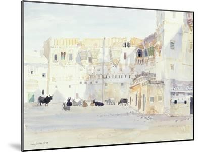 Evening at the Palace, Bhuj, 1999-Lucy Willis-Mounted Giclee Print
