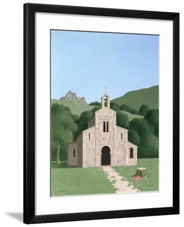San Salvador De Val De Dios, 1978-Tristram Paul Hillier-Framed Giclee Print