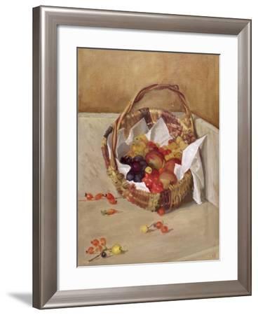 Basket of Fruit-Caroline Hervey-Bathurst-Framed Giclee Print
