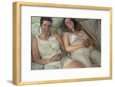 Two Women in White, 2000-Victoria Russell-Framed Giclee Print