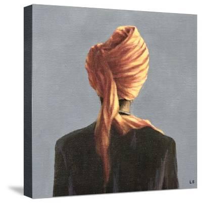 Orange Turban, 2004-Lincoln Seligman-Stretched Canvas Print