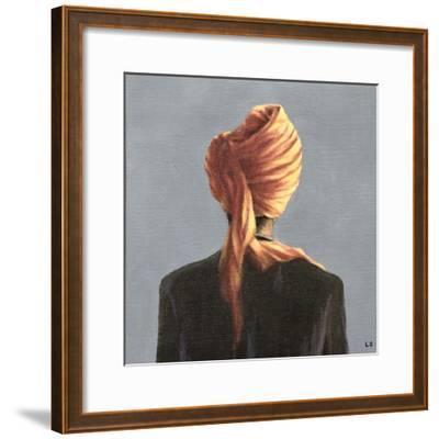Orange Turban, 2004-Lincoln Seligman-Framed Giclee Print