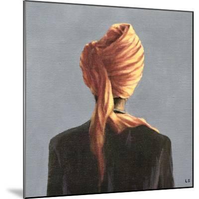Orange Turban, 2004-Lincoln Seligman-Mounted Giclee Print