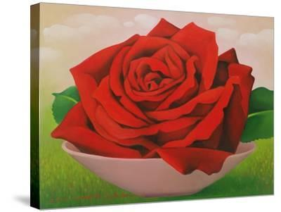 The Rose, 2004-Myung-Bo Sim-Stretched Canvas Print