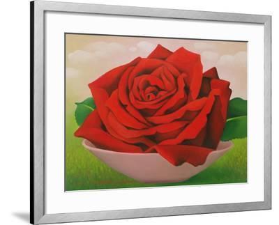 The Rose, 2004-Myung-Bo Sim-Framed Giclee Print