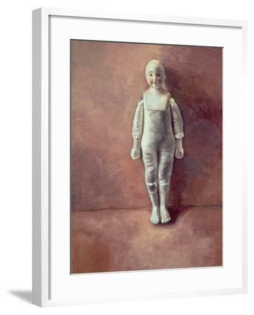 Panel from the Triptych 'Doll Study', 2000-Victoria Russell-Framed Giclee Print