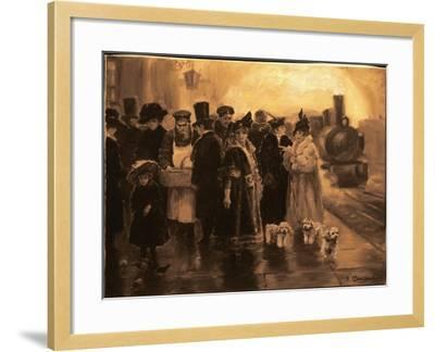 Anna Karenina-Yuri Denissov-Framed Giclee Print
